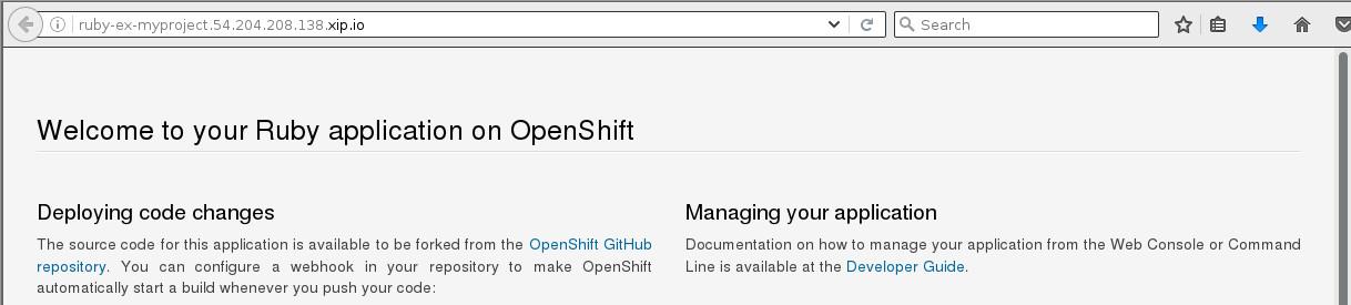 Installing an OpenShift Origin Cluster on Fedora 25 Atomic