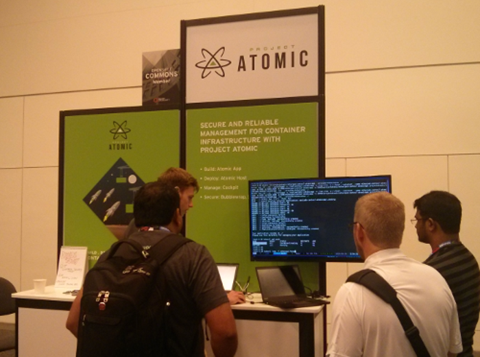 picture of 2016 atomic booth